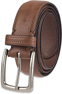 Columbia Men's Casual Leather Belt -Trinity Style for...