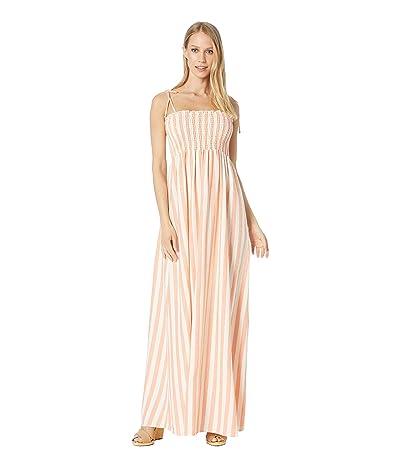 Show Me Your Mumu Maggie Maxi Dress (Dreamsicle Stripe Linen) Women