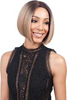 Bobbi Boss Synthetic Hair Lace Front Wig MLF126 Swiss Lace Lyna (1B)