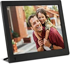 NIX Advance 8 Inch Digital Photo Frame X08E - 4:3 IPS Display, Motion Sensor, Photo/Video Player - Play Your Photos and Video in the Same Slideshow