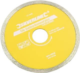Silverline Tile Cutting Diamond Disc 110 x 22.2mm