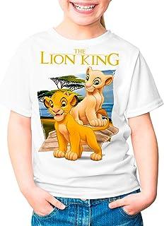 Camiseta Cine Niña - Unisex El Rey León, Simba y Nala