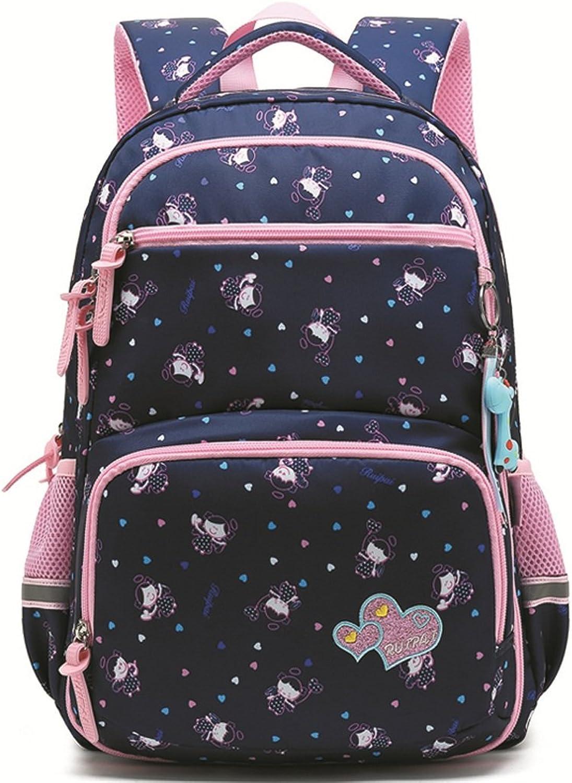DS-Schultasche Rucksack - - - Grundschule Mädchen Rucksack 1-3-4-6 Level Flip Kinder Umhängetasche Große Kapazität Leichte Casual Bag && (Farbe   C, größe   43X30X17CM) B07KHZ4CXJ | New Products  ac7d64