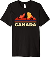 Canada T-shirt Nature retro Shirt  Premium T-Shirt