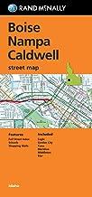 Rand McNally Folded Map: Boise, Nampa and Caldwell Street Map (Rand Mcnally Street Map)
