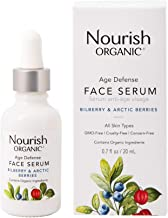 nourish organic age defense face serum