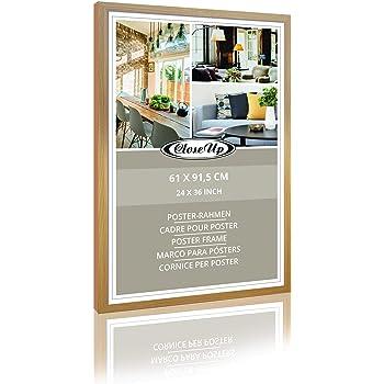 Posterrahmen 61 x 91,5 cm MDF Holz Dekor Rahmen Premium Bilderrahmen Close Up®