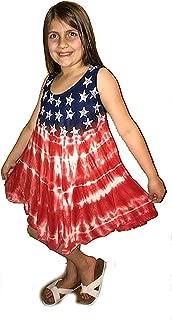 Áo quần dành cho bé gái – American Flag Dress Dresses for Girls
