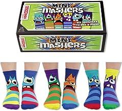United Oddsocks - 6 Oddsocks Child - US 9.5-13 Mini Mashers