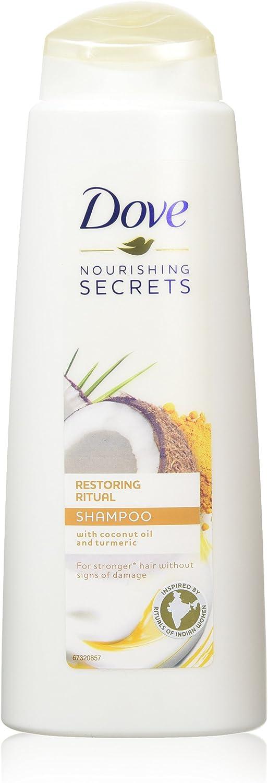 Dove Champú nutritivo para restaurar los secretos, champú vibrante y vitalizante, nutre el cabello para hombres y mujeres, humedece, suaviza y limpia ...