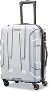 Samsonite Centric Hardside Expandable Luggage with Spinner Wheels, Silver, Carry-On 20-Inch