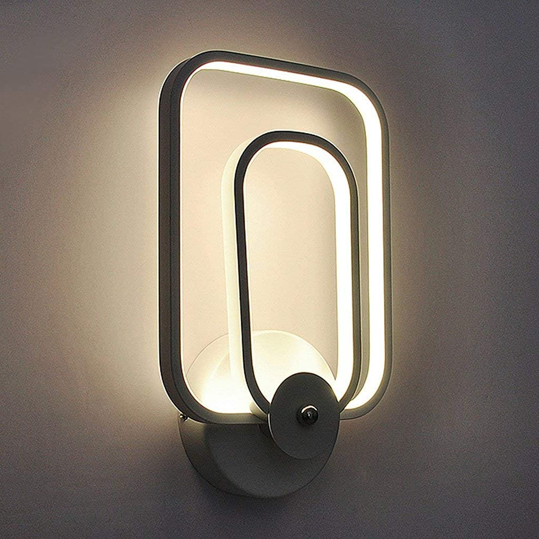 JU Nachttischlampe Schlafzimmer Wandleuchte Post-Modern Einfache Treppe Lampe Gang Balkon Garderobe Licht Führte Wandleuchte