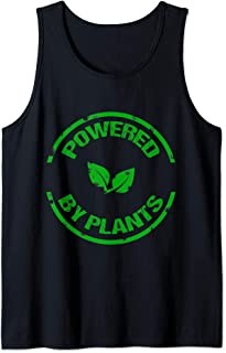 Powered By Plants Vegan Workout and Yoga  Tank Top