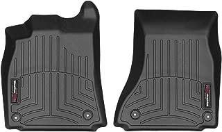 WeatherTech Custom Fit Front FloorLiner for Select Audi Models (Black) - 442121