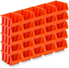 25pieza Visión con cajas de almacenamiento tamaño 4–rotbraun (23x 16x 12cm)