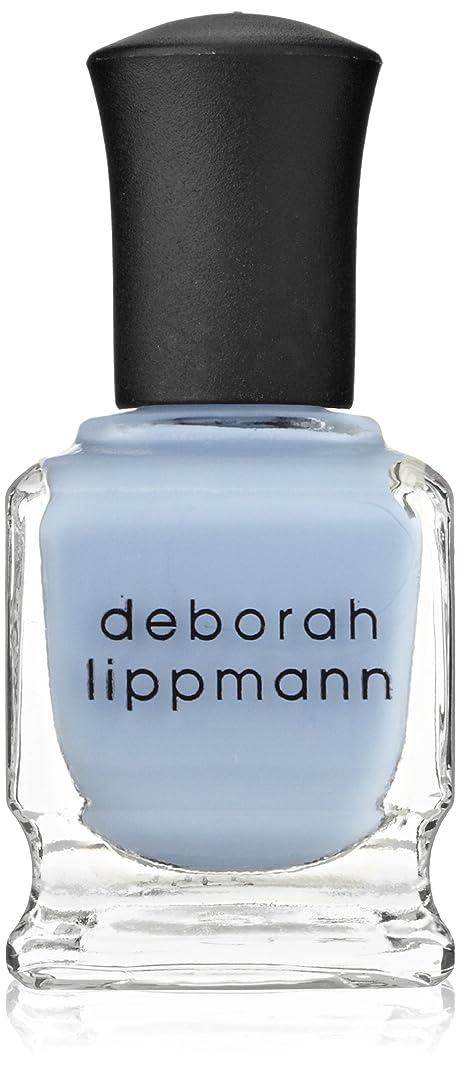 正確にパフ紳士【Deborah Lippmann デボラリップマン】 ブルーオーキッド BLUE ORCHID パステルブルー 15mL