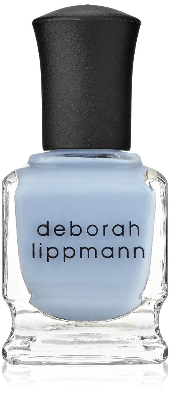関税便益勤勉な【Deborah Lippmann デボラリップマン】 ブルーオーキッド BLUE ORCHID パステルブルー 15mL