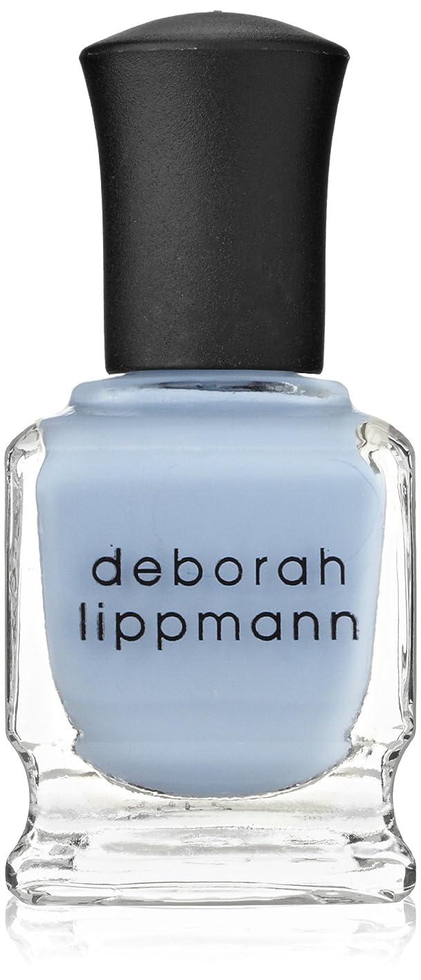 知覚する現金脅かす【Deborah Lippmann デボラリップマン】 ブルーオーキッド BLUE ORCHID パステルブルー 15mL