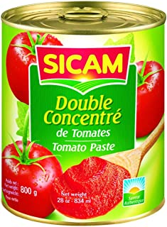 Sicam Double Concentrated Tomato Paste, 800 gm