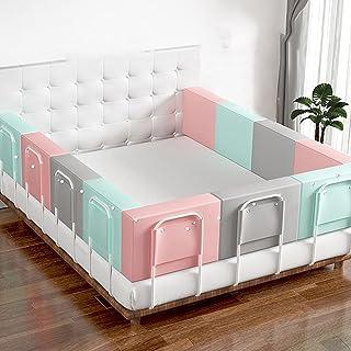 ベッドガード 布団落下防止 ベット 防止被褥坠落 ベッドガード 赤ちゃん 易于组装,适合幼儿使用。 防坠落存储和便捷存储
