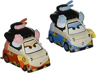 Disney Pixar Cars Diecast Character Car 2-Pack, Okuni & Shigeko