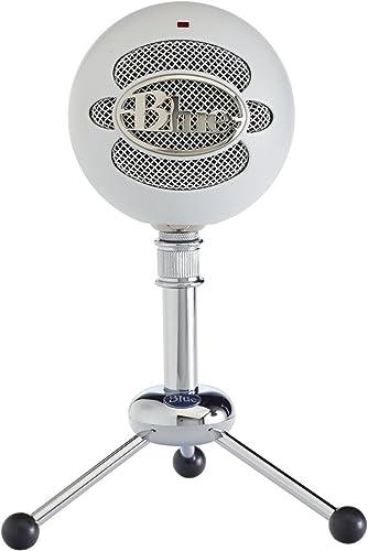 Blue Microphones Snowball Classic Microphone USB Qualité Studio pour Enregistrement, Podcast, Diffuser, Streaming Gam...