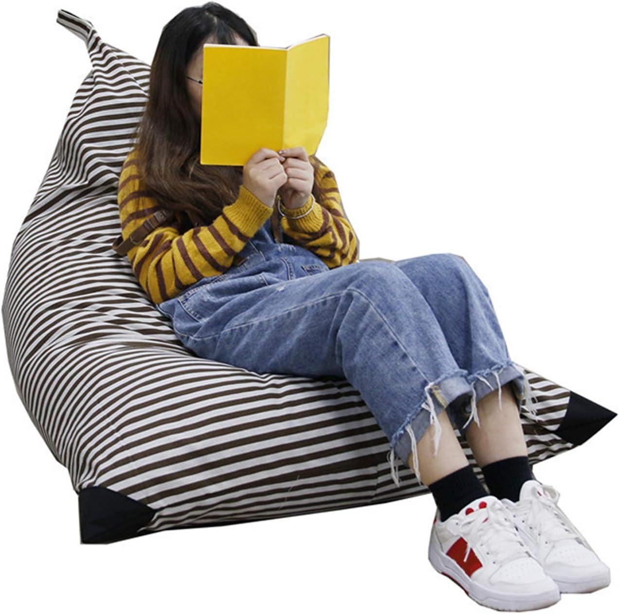 Gro/ße Kapazit/ät Stofftier Spielzeug Organizer Sofa F/ür Kinder Nur Cover Bag QLPXY Aufbewahrung Soft Toy Sitzsack Stuhl grau Jugendliche Und Erwachsene