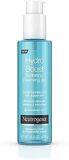Neutrogena Hydro Boost Hydrating Cleansing Gel 6 Ounce (177ml) (3 Pack)