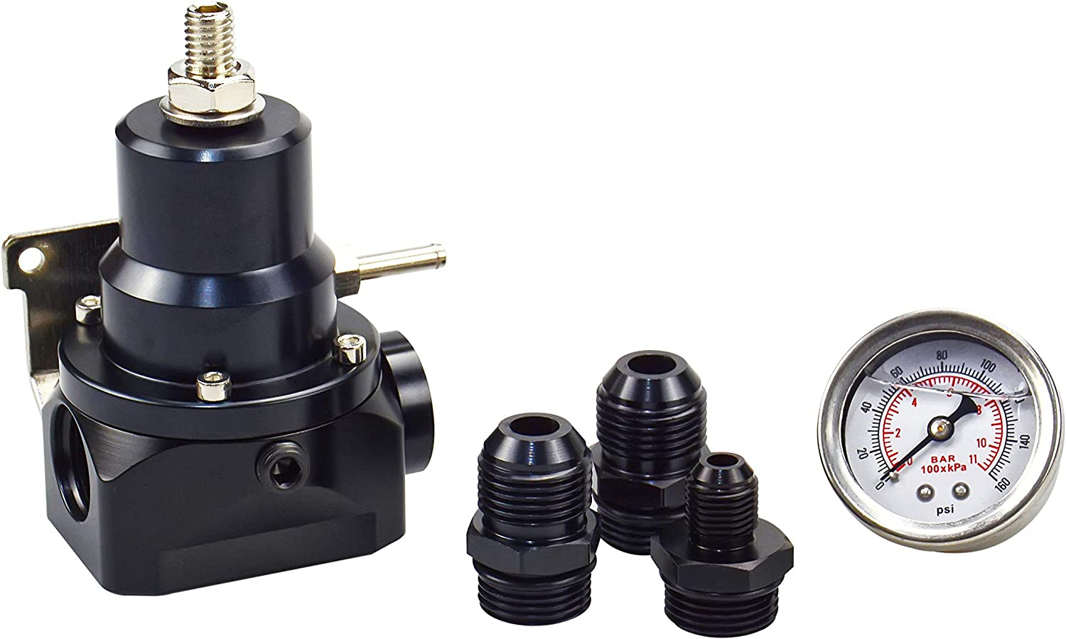 TASAN RACING Fuel Pressure Regulator with Feed Max 89% OFF AN6 AN10 Large discharge sale Gauge