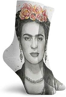 Frida Kahlo - Calcetines de vestir para hombre y mujer