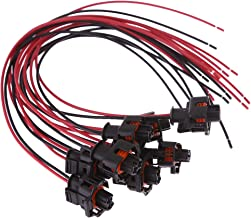 Fuel Injector Connector Harness Plug For 6.6L Duramax LLY, LBZ (Pack of 8)