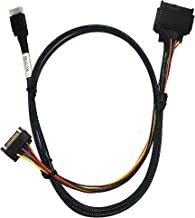 DiLinKer OCuLink(SFF-8611) to PCIE SFF-8639 U.2 NVMe with Power Cable(1M)