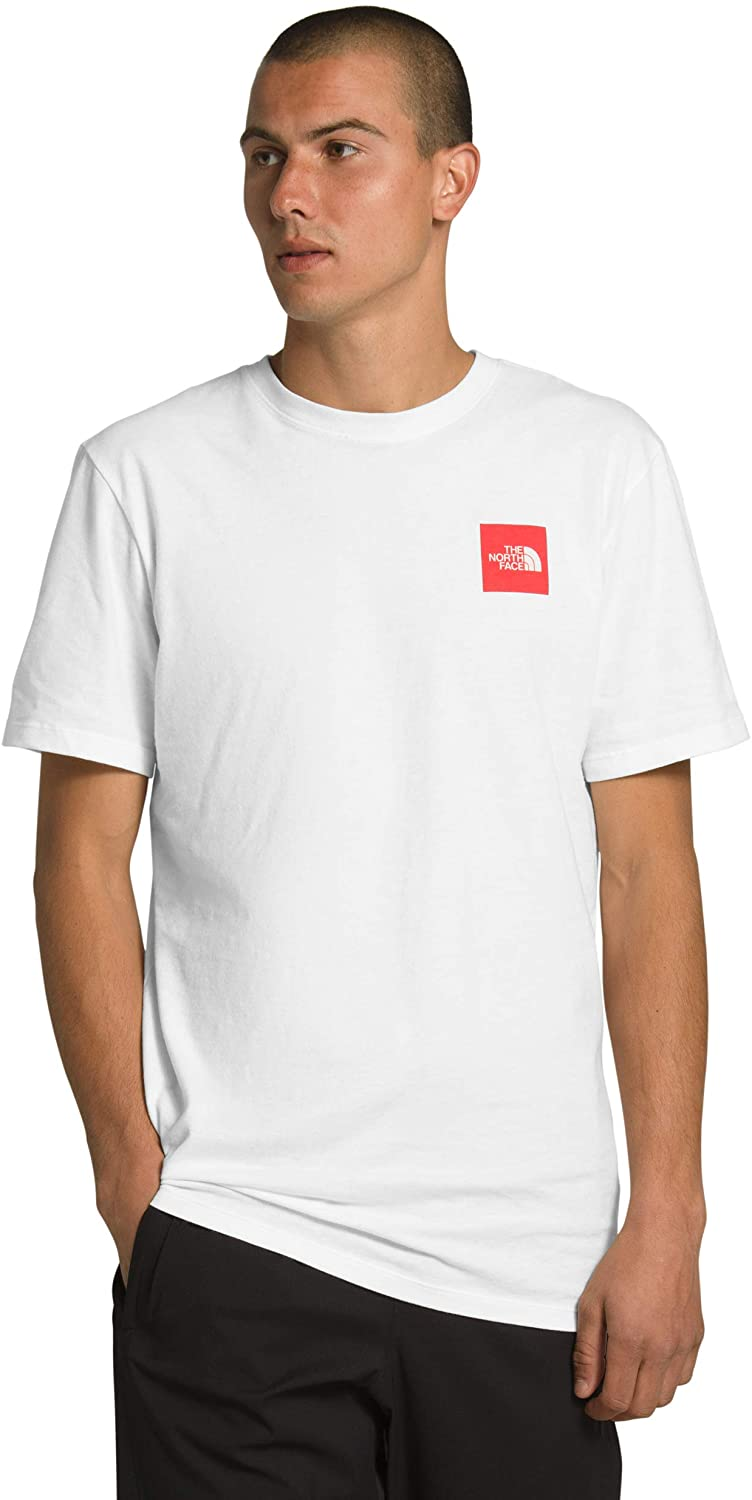 The North Face Men's Short Direct sale of manufacturer Box Memphis Mall Tee Red Sleeve