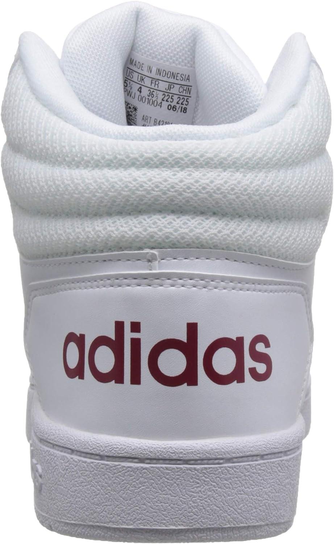 Adidas 2.0 Mid basketbalschoenen voor dames, blauw/zwart Wit Wit 000 z6jWz7QV