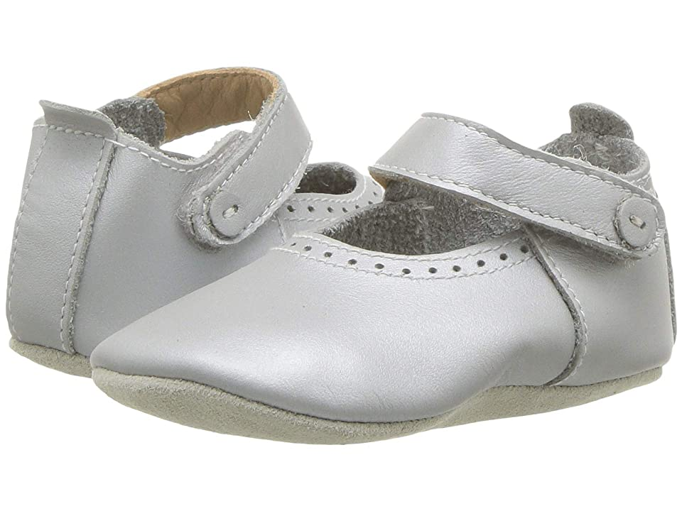 Bobux Kids Soft Sole Delight (Infant) (Silver) Kid