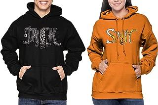 Matching Couple Jack/Sally Hoodie Sweatshirt