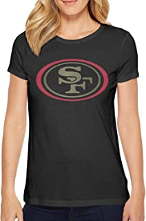 Mackiintion Women's Short Sleeve T-Shirts O-Neck Tee Shirts 100% Cotton
