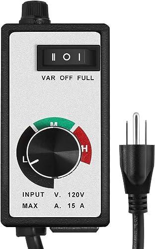 lowest VIVOSUN 2021 Variable Vent Fan Speed Adjuster Inline online sale Duct Fan Speed Controller online sale