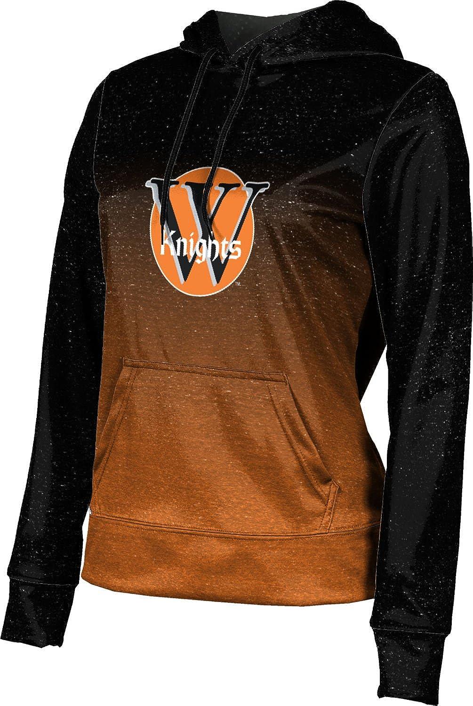 ProSphere Wartburg College Girls' Pullover Hoodie, School Spirit Sweatshirt (Ombre)