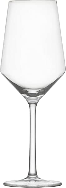 Schott Zwiesel Tritan Crystal Glass Pure Stemware Collection Sauvignon Blanc Rose Tasting White Wine Glass 13 8 Ounce Set Of 6