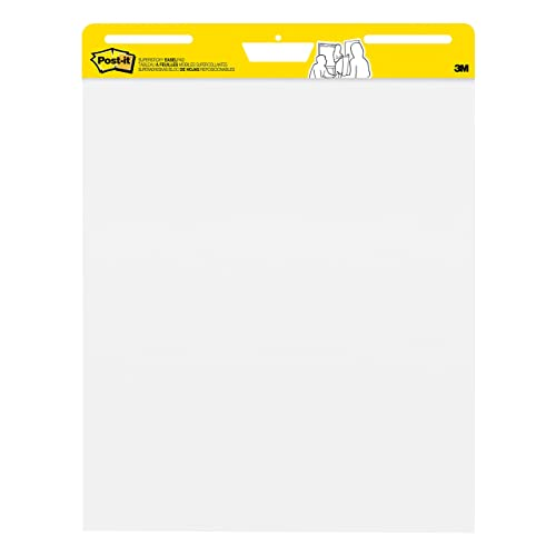 Post-it Super Sticky Easel Pad, 25 x 30 Inches, 30 Sheets/