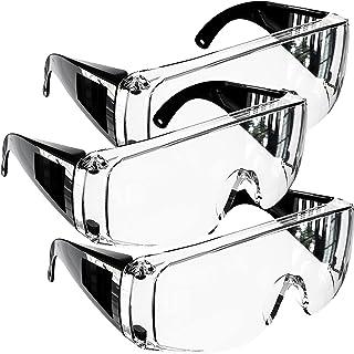 G2RISE 保護ゴーグル 保護メガネ 作業用アイゴーグル 安全メガネ 防塵ゴーグル 曇り止め オーバーグラス 眼鏡着用可 医療用 花粉症 飛沫対策 軽量 防風 耐衝撃性 透明