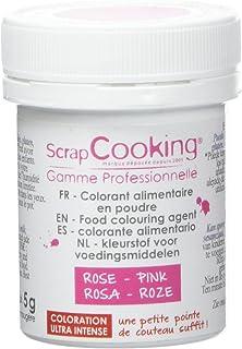 Scrapcooking Colorant Artificiel en Poudre Rose 5 g