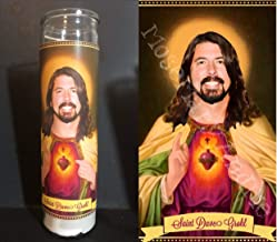 Mose Mary and Me Dave Grohl Devotional Prayer Saint Candle