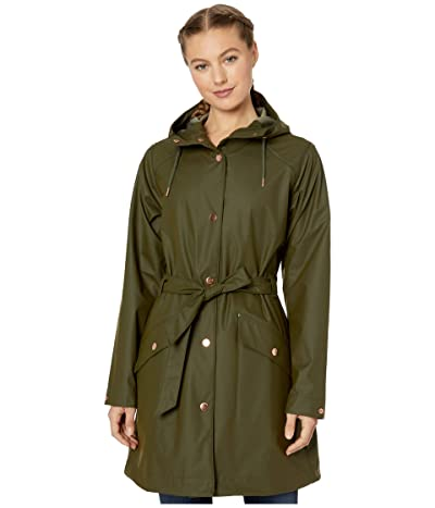 Helly Hansen Kirkwall II Raincoat (Forest Night) Women