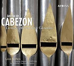 Antonio De Cabezón TIENTOS, DIFÉRENCIAS Y GLOSADAS
