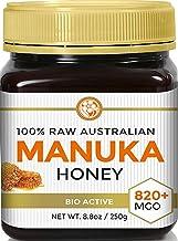 Manuka Honey MGO 820+ (NPA 20+) Highest Grade Medicinal Strength Manuka With Antibacterial Activity - Raw, Certified - 250...