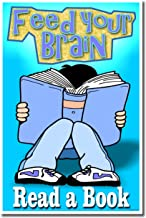 PosterEnvy Reading Poster - Feed Your Brain - Read a Book