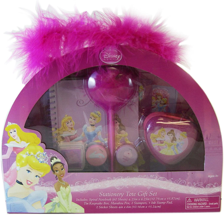 Disney Princess 8pc Princess Stationery Tote Set
