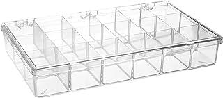 Bel-Art Plastic 18 Compartment Storage Box; 11 x 6¹³/₁₆ x 1¹³/₁₆ in. (F16623-0000)